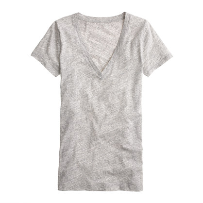 JCrew Cotton V-Neck Tee - Favourite Staple
