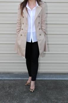 Winter Layer Essential: Zara Trench Coat