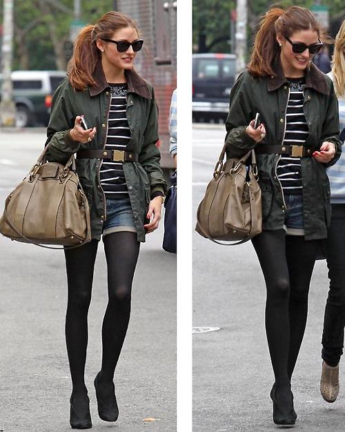 Olivia Palermo Weekend Short Style